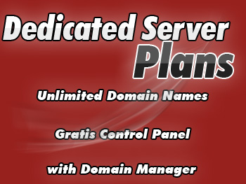 Low-cost dedicated server plan